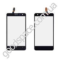 Тачскрин (сенсор) Nokia 625 Lumia, цвет черный, высокое качество