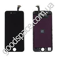 Дисплейный модуль iPhone 6 (4.7) с тачскрином в сборе (цвет черный), оригинал, TEST OK