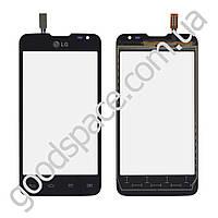 Тачскрин (сенсор) LG D285 L65, цвет черный, высокое качество