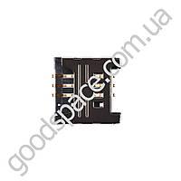 Слот для сим карты Samsung C3300, C3322