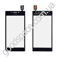 Тачскрин Sony Xperia M2 S50h, D2305, D2302, D2303, D2306, цвет черный, высокое качетсво