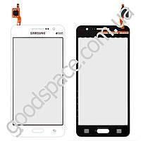 Тачскрин (сенсор) Samsung G530H, G531, G530F Galaxy Grand Prime, цвет белый, высокое качество