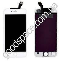 Дисплейный модуль iPhone 6, цвет белый, TEST OK
