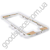 Рамка дисплея (экрана) для iPhone5S, цвет белый