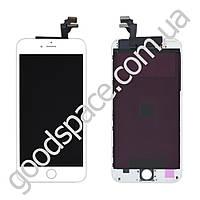 Дисплей iPhone 6 Plus (5.5) с тачскрином в сборе, цвет белый, высокое качество