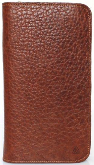 Женский функциональный кожаный кошелек Mykhail Ikhtyar (МИХАИЛ ИХТЯР) 6703 коричневый
