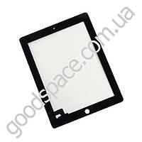 Тачскрин (сенсор) со стеклом для iPad 2, цвет черный