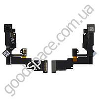 Шлейф для iPhone 6 (4.7) с датчиком освещенности, датчиком приближения и фронтальной камерой