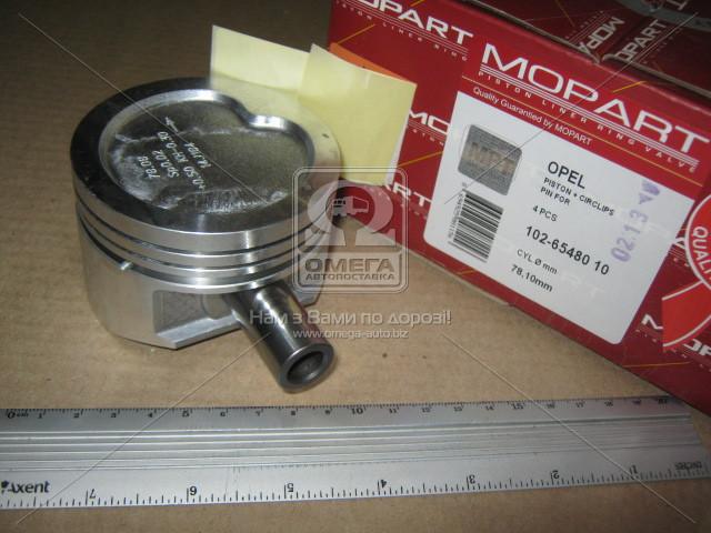 Поршень двигателя OPEL KADETT E 78,10 1,4 C14NZ / SZ/NE 1991-1994 (пр-во Mopart)