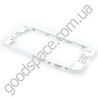 Рамка дисплея (экрана) для iPhone 6S (4.7), цвет белый
