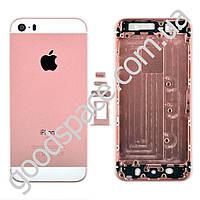 Корпус iPhone 5S, iPhone SE, цвет розовый