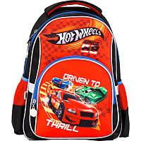 Рюкзак для мальчиков школьный 513 Hot Wheels HW17-513S Kite