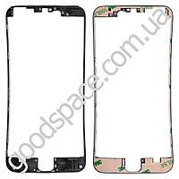 Рамка дисплея (экрана) для iPhone 6S Plus (5.5), цвет черный