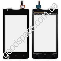 Тачскрин для мобильного телефона (смартфона) Lenovo A1000, цвет черный