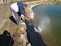 Чистка пруда Очистка водоёма