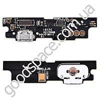 Разъем зарядки для телефона Meizu M3 Note с нижней платой