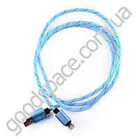 Универсальный кабель Micro-USB iPhone 5 цветной резиновая веревка
