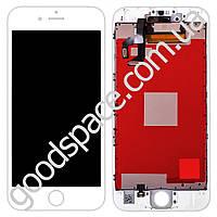 Дисплей iPhone 6S (4.7) с тачскрином в сборе, цвет белый, оригинал