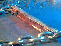 Транспортер (конвейер) скребковый, отвода золы (водяная баня)