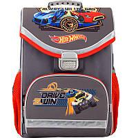 Рюкзак для мальчиков школьный каркасный (ранец) 529 Hot Wheels HW17-529S Kite