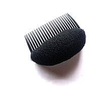 Накладка для об'єму волосся, чорна