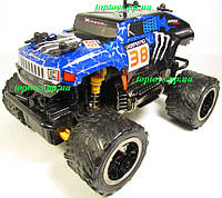 Машина на радиоуправлении Джип Хаммер Hummer Большие колёса, длина 18см, аккум. Mad runner