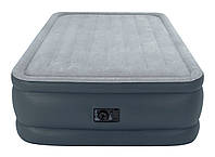 Надувная кровать Intex 64140 встроен. насос. 220В, 152-203-51см