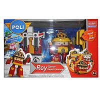 Трансформер 81309 Робокар Roy в коробке