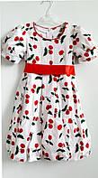 Летнее платье Yamila Вишенка для девочки