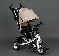 Трехколёсный детский велосипед Best Trike 6588 бежевый, колеса пена, фото 1