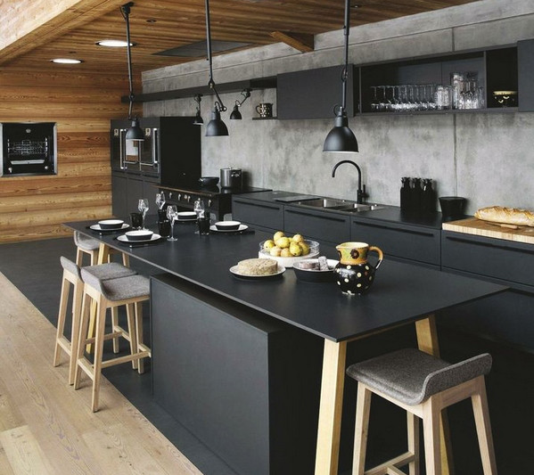 Дизайн интерьера кухни в стиле Loft