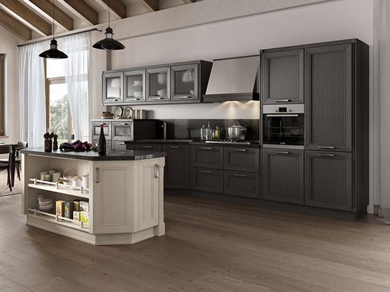 Дизайн интерьера кухни в стиле современная классика