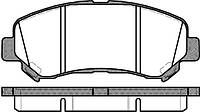 Колодки тормозные передние REMSA (NISSAN, RENAULT, SUZUKI)