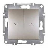Выключатель для жалюзи Schneider-Electric Asfora EPH1300169 бронза