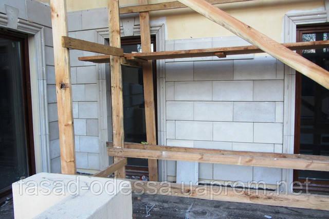 S-образная плитка для фасадов