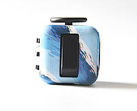 Игрушка Fidget Cube - антистрессовый кубик(Голубая волна)