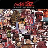 Музыкальный CD-диск. Gorillaz - The Singles 2001-2011 - The Best of