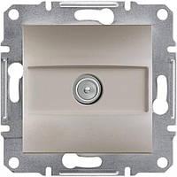Розетка ТВ проходная  Schneider-Electric Asfora EPH3200269 бронза