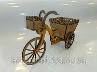 "Декоративное кашпо ""Велосипед"", фото 5"