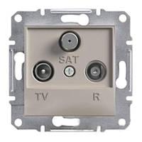 Розетка TV/R/SAT конечная  Schneider-Electric Asfora EPH3500169 бронза