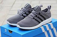 Кроссовки Adidas Bounce серые 1824