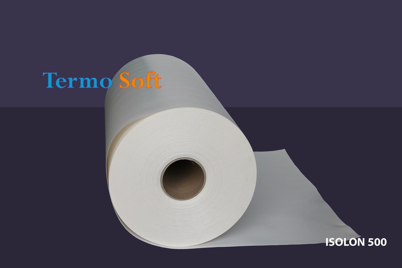 Тепло- шумоизоляция. Вспененный полиэтилен, Изолон ППЭ 1001, полотно-1мм