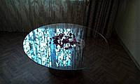 """Стеклянный стол """"Стеклянный цветок"""""""