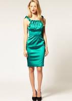 Бирюзовое платье Karen Millen оригинального дизайна KM70048