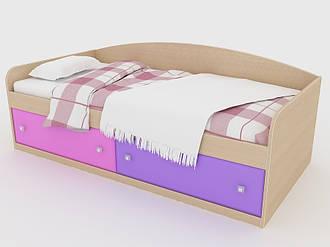 Детская односпальная кровать Люси Люкс