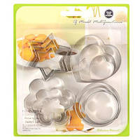 Формочки фигурные для печенья, 12 шт. в наборе, фото 1