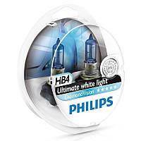 Галогенные лампы Philips Diamond Vision HB4 (9006) 12V 55W (9006DVS2)