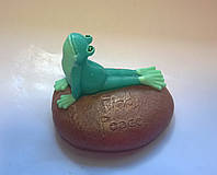 Мыло Лягушка на камне
