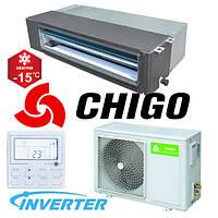 Канальный кондиционер Chigo CTA-24HVR1/COU-24HDR1 Inverter