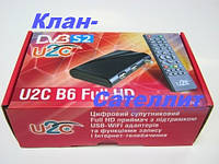 Тюнер (ресивер) цифровой HDTV ресивер с функцией IPTV и медиаплеера U2C B6 Full HD -есть оптовая продажа